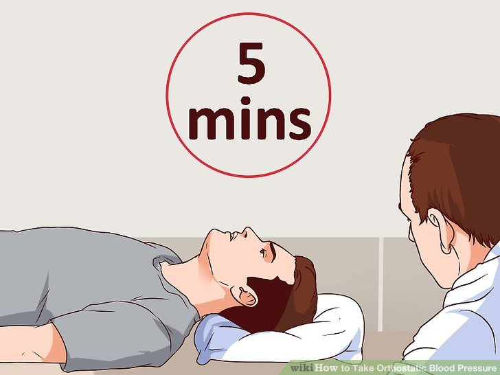 How to Take Orthostatic Blood Pressure