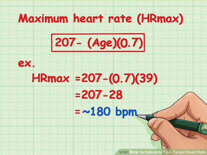 How to calculate maximum heart rate